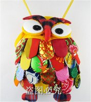 Wholesale Backpack For Preschool - Preschool Baby Shoulder Bag Cute Owl School Backpack New Style for Girls Boys Funny Anamal Children's School Bags Quality Colorful Stich