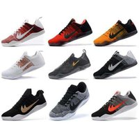Wholesale Horse Canvases - High Quality Kobe 11 Elite Men Basketball Shoes Sport Red Horse Oreo Sneakers KB 11 EP Sports Sneakers With Shoes Box