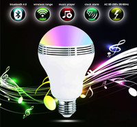 Wholesale Cheap Lead Line - Wholesales designer Unique bluetooth mini speakers with smart led light lamp app support android and ios system, 9w e27, price cheap
