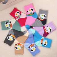 Wholesale Clothes For Children Cartoon - Cartoon Socks for Children Animals Kids Short Socks Children Cotton Thick Boys Sock Meias Infanti Children Clothing 4-15 Years