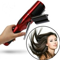 Wholesale Sell Hair Home - 20PCS Lot Hot Selling Rechargeable Electric Damaged Hair Trimmer For Home And Salon Hair Styling Tool GI3010