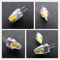 Wholesale G4 6v - G4 LED Bulb 6V DC low voltage lamp highlight cob crystal lamp 1W warm white light 5V