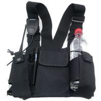 Wholesale military walkie resale online - 3in1 Multi functional Military Two way radio walkie talkie Bag Super Strong Nylon Bag