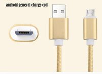 Wholesale Direct Factory Sale - mobile phone data cable safe and fast charge android general charge coil many kinds of colors genuine article factory direct sale usb2.0
