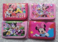 Wholesale Girls Fashion One Shoulder - Minnie Mouse PURSE 12 pcs Girls' Coin Purse Wallets Money case Kids purse Fashion Party Gift