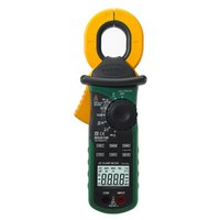 Wholesale High Sensitivity Current Meter - Wholesale-MASTECH MS2010B Digital LCD Electrical Professional Multifunction High Sensitivity Leakage Current Tester Clamp Meter DMM