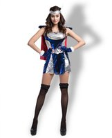 Wholesale Women Thor Costume - Halloween Costume American comic superheroes thor female version of the role-playing ThorGirl stage party code division