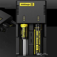Wholesale E Cig Multi Charger - Nitecore i2 Universal Intelli charger Multi Function Charger for 18650 14500 16340 26650 Battery E cig