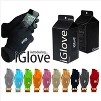 Wholesale Gloves For Iphone - iGlove Capacitive Touch Screen Gloves Men Women Unisex Winter Outside Iglove For iPhone iPad Samsung Smart Phone With Retail Package