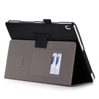 Wholesale free lenovo tablet for sale - Group buy Luxury PU Leather Case Stand Cover for Lenovo TAB TB X304F TB X304N TB X304 Tablet with Card Slots Hand Strap Free Gift