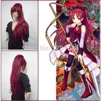 Wholesale Kyoko Sakura Wig - Free Shipping Puella Magi Madoka Magica Kyoko Sakura Cosplay Wig for Costume from Puella Magi Madoka Magica