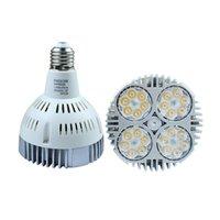 Wholesale Wholesale Led Track Light Bulbs - PAR30 E27 LED Spot Down Light 35W Super Bright Led Spotlight Bulb Lights AC110-265V Track Lamp Bulb Home Decor Free Shipping