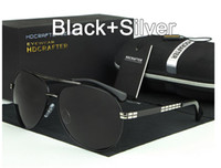 óculos de sol piloto mercúrio venda por atacado-4 cores de alta qualidade marca Piloto Clássico Polarizada Óculos De Sol mulheres / homens Anti-Reflexo Quadro de liga de revestimento de mercúrio Designer de condução óculos de Sol