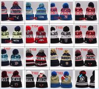 Wholesale Order Small Hats - Wholesale-Wholesale Small Order New arrival winter hat, basketball Skullies,Sport beanies hat,Football knitted hats gorro Thicken Warm Cap