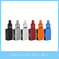 Wholesale Joyetech Evic Top - Joyetech eVic Basic with CUBIS Pro Mini Kit 2ml CUBIS Pro Mini Atomizer 1500mAh eVic Basic Battery Top Filling Firmware Upgrade 100%Original