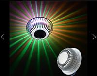 ganglampe groihandel-Sonnenblume Decke LED Gang Korridore Veranda Licht 3 w Die Wohnzimmer Tür Lampen und Laternen Fangyuan Raster Deckenleuchte