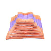 Wholesale nest beds online - 8 Sizes Double Sides Large Dogs Pad Mechanical Wash Standard Pet Pads Small Dog Cage MATS Cat Nest Summer Air Conditioning Mat Size XS S M L