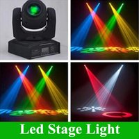 Wholesale led moving head stage lighting - LED 10W 30W spots Light DMX Stage Spot Moving 8 11 Channels 8colors Mini LED Moving Head Free Shipping