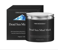 Wholesale Clear Mud - New Dead Sea Mud Mask Deep Cleaning Hydrating Acne Blemish Black Mask Clearing Lightening Moisturizer Nourishing Pore Face Cleaner