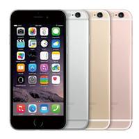 Wholesale Hd Retina - Original iPhone 6s Touch ID 4G LTE IOS 10 4.7 inch Retina HD 1334*750 2GB RAM 128GB ROM Dual Core A9+M9 12MP Camera Nano SIM Card Smartphone