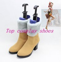 Wholesale Final Fantasy XIII Vanilla rikku Cosplay Boots shoes shoe boot YJZ3