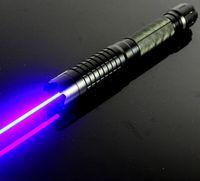 ingrosso torcia elettrica di caccia leggera del laser-Più potente torcia militare Lazer 450nm 5000000 m torcia elettrica di alta qualità puntatore laser blu luce di segnalazione campeggio luce LAZER caccia 007