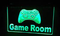 neon lichter zeichen spiele großhandel-LS226-g Spielekonsole Neon Light Sign