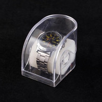Wholesale 10pcs High Quality Retail Plastic Watch Box Case Jewellery Box Mixed Color Without watch