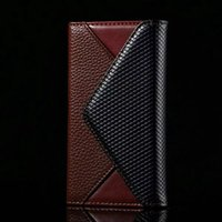Wholesale Iphone 5s Colors Rhinestone Case - For iPhone 8 Plus X 7 6S 5S High Quality Luxury TPU Leather Wallet Case Mix Colors Pouch Card Slot Durable Protective Cover