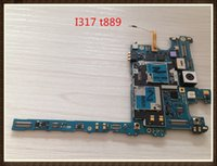 Wholesale Note I317 - Choose Language ~unlock Original board For Samsung Galaxy NOTE 2 I317 Motherboard mainboard Free shipping