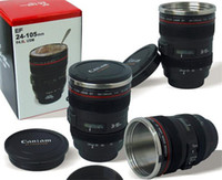 Wholesale Cpam Coffee Camera Lens - Wholesale- CPAM coffee camera caniam lens mug camera coffee thermal cupmug caniam Logo gift for photography friend