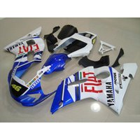 Wholesale Buy Fairings - 3 Free gifts New ABS Fairing Kits 100% Fitment For YAMAHA YZF-R6 98-02 YZF600 1998 1999 2000 2001 2002 bodywork set hot buy FIAT 46
