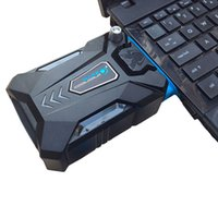 Wholesale adjustable laptop cooling online - Coolcold Portable Laptop USB Cooling Fan Air Cooler Speed Adjustable Ice Troll High Performance Notebook Fan Cooler Controller