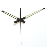 Wholesale mechanical clock kits for sale - Group buy New Design sets Skp Shaft Luminous Hands Metal Aluminum Material Diy Clock Hands Quartz Clock Accessory High Quality Diy Clock Kits