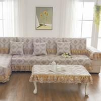 Sofa Cushion Protectors Preços Único Brown Flower Sofa Pillow Couch Cushion  Sofa Cover Slipcovers Pastoral