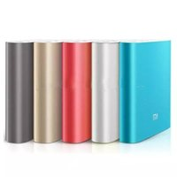 Xiaomi 10400mAh powerbank Caricabatteria USB esterno portatile Pack / Power Bank per Xiaomi Samsung LG iPhone HTC Google Blackberry MP3