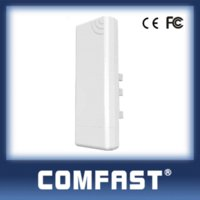 Wholesale Wireless Receiver Booster - 2.4Ghz 14dBi High Gain Outdoor Wifi Receiver COMFAST CF-E214N outdoor coverage 5km siganl booster amplifier receiver free