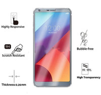 Wholesale Lg Optimus Screen - For LG X Power 2 Tempered Glass For LG K4 K8 K10 2017 G6 Plus Q6 Plus 9H Anti Scratch Screen Protector