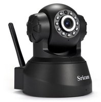 neueste video großhandel-Neueste Sricam SP012 Ip-kamera WIFI Onvif P2P Telefon Fern 720 P Home Security Babyphone 1.0MP Drahtlose Videoüberwachung Cam