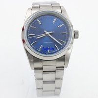 Wholesale Top Selling Mechanical Watches - TOP sell 2 colors Rolix luxury brand watch men 116900-71200 AIR-KING 36mm Mans automatic watches A model women wristwatch
