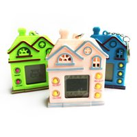 Wholesale Plastic Housings For Electronics - Creative House Tamagotchi Electronic Multi Pets in Virtual Cyber Fidget Toys as Key Ring Gifts for Kids
