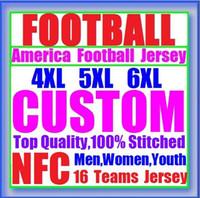 Wholesale Green Bay Football Jerseys - 2017 Custom American Football Jerseys Detroit Lions Green Bay Packer Minnesota Chicago Vikings Bears Vapor Untouchable Limited Jersey 4xl