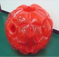 zorb für kinder großhandel-90cm ooutdoor Spielplatz aufblasbarer Stoßball für Kinder zorb Bälle im Freiensport scherzt Teamspielhamster-Rollenball
