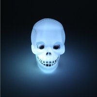 Wholesale Skeletons Props - Super bright Led Pumpkin Skeleton light Hallowmas christmas Party Decoration Prop Bedside Table Light Halloween Lamp