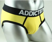Wholesale Men Brand Name Boxers - Hot Brands name new sexy mens male trunks underpants underwear ropa interior hombre cuecas pants briefs shorts briefs panties slips man