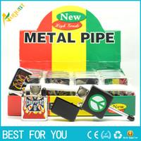 Wholesale Violin Machine - Metal small pipe oil cotton machine pipe the violin type pipe lighter shape metal pipe