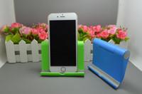 taşınabilir masaüstü standı toptan satış-6 renk Masaüstü katlanır cep telefonu perakende kutu ile Evrensel Tablet PC tutucu standı stent taşınabilir tembel stent DHL tarafından ücretsiz kargo