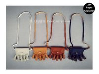 Wholesale Messenger Baby Bags - 10pcs lot Fashion Baby Girls Coin Purses Handmade Kids Purses Handbags Girl Tassel Bag, Lace bags KIKIKIDS Wholesale