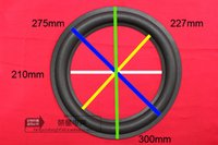 Wholesale Bass Speakers 12 - Wholesale- 2 piece 12 inch REPAIR woofer   Bass speaker foam surrounds:201mm  227mm  275mm  300mm
