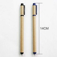 black writing paper - 20pcs Kraft Paper Environmental Gel Pens Paper Pen Trendy School Office Home Stationery Writing Pen Material Escolar